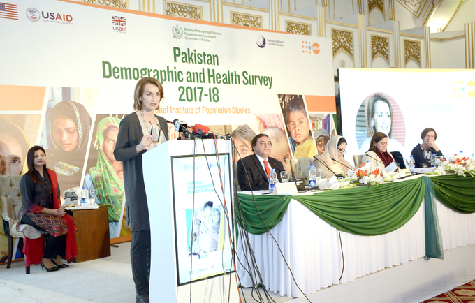 Pakistan DHS- Data Dissemination Event
